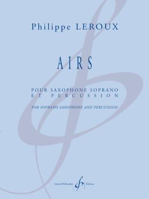 Philippe Leroux - Airs - Partition - di-arezzo.fr