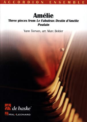 Yann Tiersen - Amelie - Sheet Music - di-arezzo.co.uk