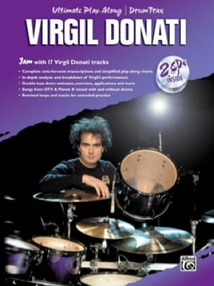 Virgil Donati - Virgil Donati Ultimate Play-Along Drum Drum Trax avec 2 CDs - Partition - di-arezzo.fr
