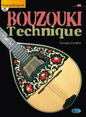Bouzouki Technique Giorgio Cordini Partition Guitare - laflutedepan