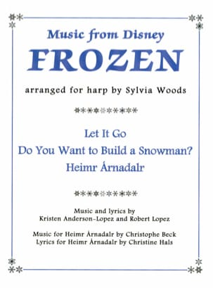 DISNEY - The Snow Queen For Harp - Sheet Music - di-arezzo.co.uk