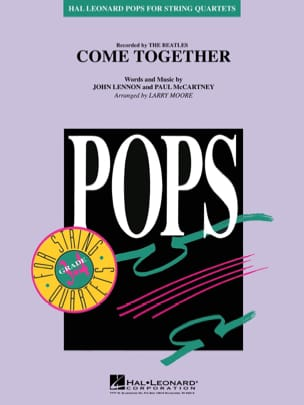 BEATLES - Come Together - Pops For String Quartets - Partition - di-arezzo.fr