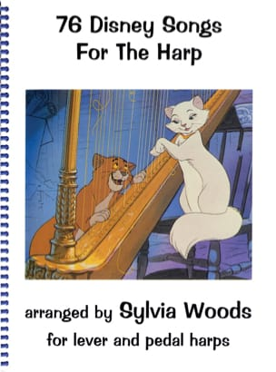 DISNEY - 76 Disney songs for the harp - Sheet Music - di-arezzo.co.uk