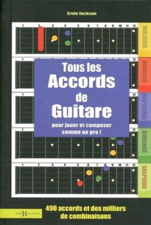 Tous les Accords de Guitare - Ernie Jackson - laflutedepan.com