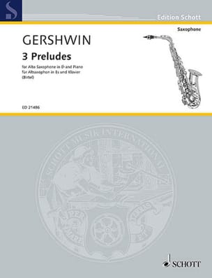 George Gershwin - 3 Preludes - Sheet Music - di-arezzo.co.uk