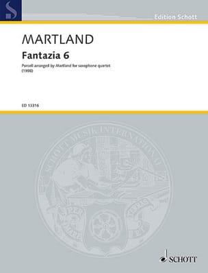 Steve Martland - Fantazia 6 - Sheet Music - di-arezzo.com