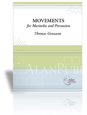 Thomas Grassano - Movements for Marimba and Percussion - Partition - di-arezzo.fr