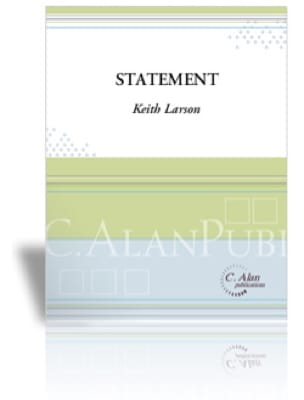 Keith Larson - Statement - Sheet Music - di-arezzo.com