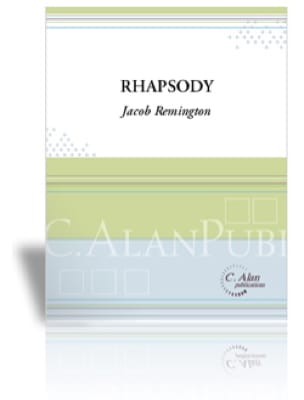 Rhapsody for Solo Marimba - Jacob Remington - laflutedepan.com