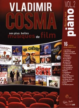 Vladimir Cosma - His Most Beautiful Soundtrack Volume 2 - Sheet Music - di-arezzo.com
