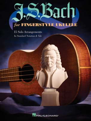 BACH - JS Bach For Fingerstyle Ukulele - Sheet Music - di-arezzo.co.uk