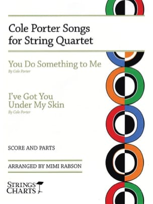 Cole Porter - Cole Porter Songs for String Quartet - Partition - di-arezzo.fr