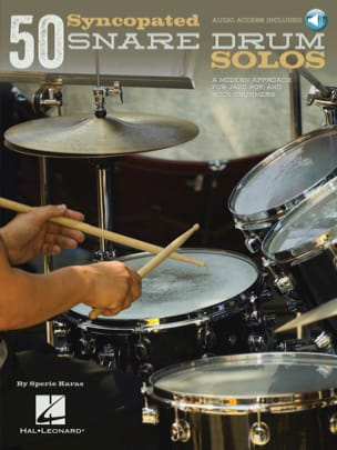 Sperie Karas - 50 Syncopated Snare Drum Solos - Partition - di-arezzo.fr