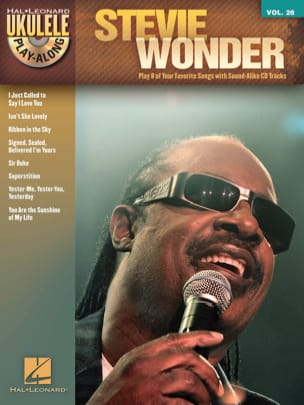 Stevie Wonder - Ukulélé Play-Along Volume 28 - Stevie Wonder - Partition - di-arezzo.fr