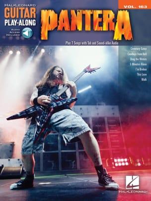Pantera & Dimebag Darrell - Guitar Play-Along Volume 163 - Pantera - Partition - di-arezzo.fr