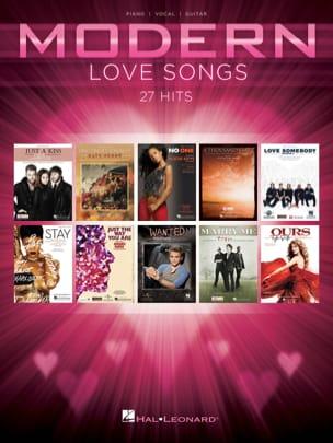 Modern Love Songs - 27 Hits Partition Pop / Rock - laflutedepan