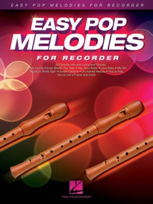 Easy Pop Melodies for Recorder Partition Flûte à bec - laflutedepan