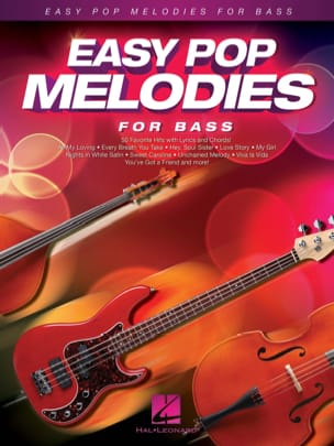 Easy Pop Melodies for Bass Partition Guitare - laflutedepan