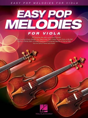 Easy Pop Melodies for Viola Partition Alto - laflutedepan