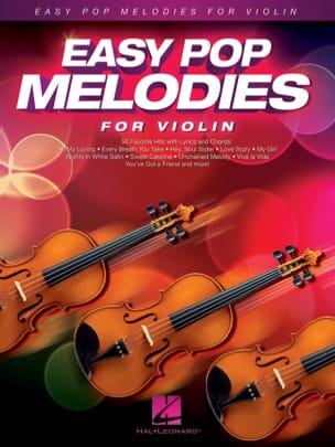 Easy Pop Melodies for Violin Partition Violon - laflutedepan