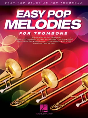 - Easy Pop Melodies for Trombone - Partition - di-arezzo.fr