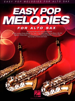 Easy Pop Melodies for Alto Sax - Sheet Music - di-arezzo.co.uk