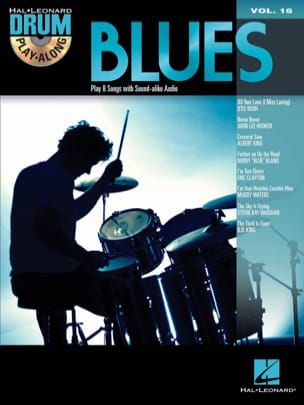 Drum Play-Along Volume 16 - Blues Partition Batterie - laflutedepan