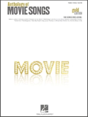 - Anthology of Movie Songs - Gold Edition - Sheet Music - di-arezzo.co.uk