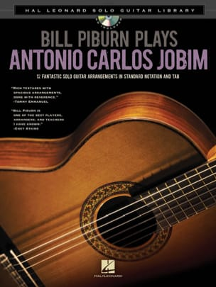 Antonio Carlos Jobim - Bill Piburn Plays Antonio Carlos Jobim - Partition - di-arezzo.co.uk