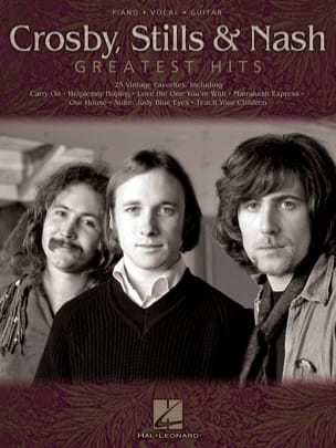 Greatest Hits - Stills & Nash Crosby, - Partition - laflutedepan.com