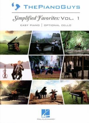 ThePianoGuys - Preferiti semplificati Volume 1 - Partitura - di-arezzo.it