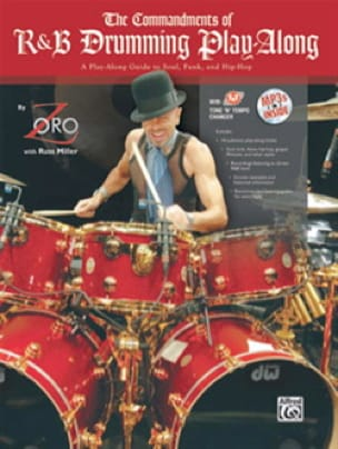 et Russ Miller Zoro - The Commandments of R&B Drumming Play-Along - Partition - di-arezzo.fr