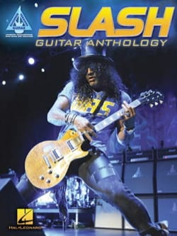 Guitar Anthology Slash Partition Pop / Rock - laflutedepan