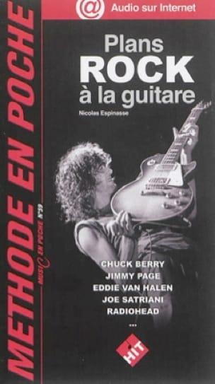 Plans Rock à la guitare - Nicolas Espinasse - laflutedepan.com