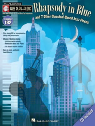 - Jazz Play-Along Volume 182 - Rhapsody in Blue and more - Sheet Music - di-arezzo.com