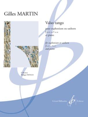Gilles Martin - Valso tango - Partition - di-arezzo.fr
