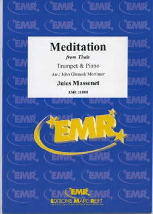 Meditation from Thaïs - Jules Massenet - Partition - laflutedepan.com