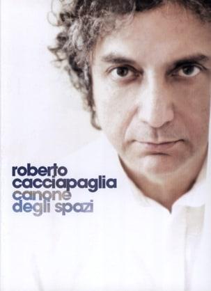 Roberto Cacciapaglia - Canone degli Spazi - Partition - di-arezzo.ch