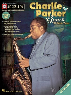 Charlie Parker - Jazz Play-Along Volume 142 - Charlie Parker Gems - Sheet Music - di-arezzo.co.uk