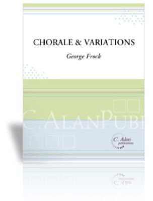 George Frock - Choir and Variations - Sheet Music - di-arezzo.co.uk