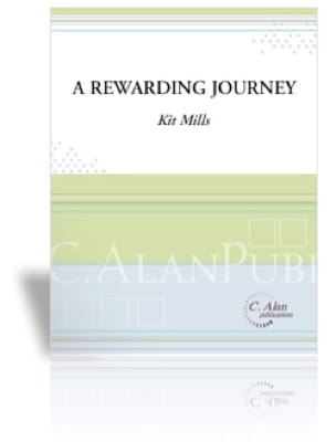 A Rewarding Journey - Kit Mills - Partition - laflutedepan.com