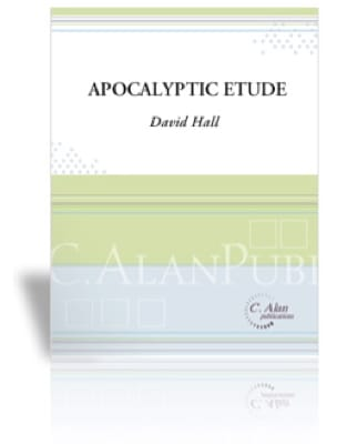 Dave Hall - Apocalyptic Etude - Partition - di-arezzo.fr