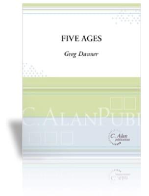 Five Ages - Greg Danner - Partition - Timbales - laflutedepan.com