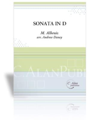 Sonata in D - Mateo Perez de Albéniz - Partition - laflutedepan.com