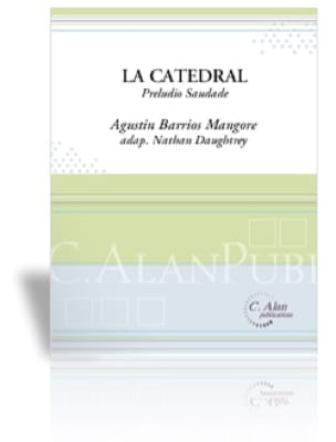 Mangore Agustin Barrios - La Catedral - Sheet Music - di-arezzo.co.uk