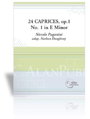 Niccolo Paganini - 24 Caprices Opus 1 No 1 in E Major - Partition - di-arezzo.fr