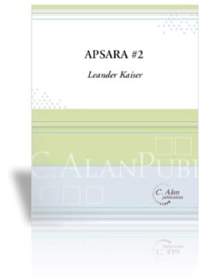 Apsara No 2 Leander Kaiser Partition Marimba - laflutedepan