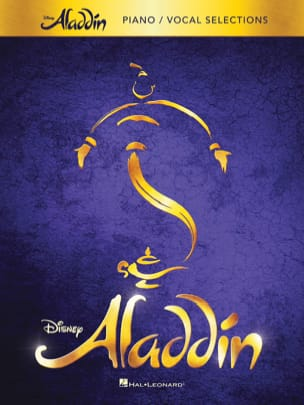 Alan Menken - Aladdin - Broadway Musical - Partition - di-arezzo.fr