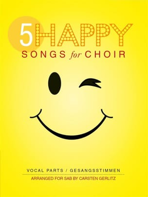 - 5 Happy Songs For Choir - Partition - di-arezzo.fr