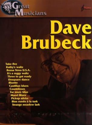 Dave Brubeck - Brubeck Dave Great Musicians - Sheet Music - di-arezzo.co.uk